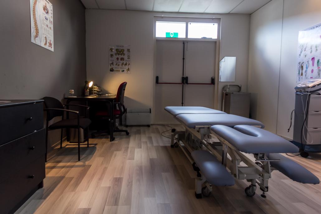 fysiotherapie behandelkamer